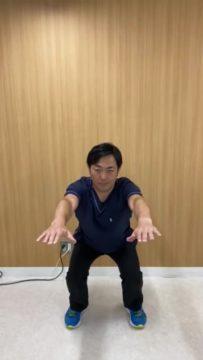 ハーフスクワットPart 2【大腿部、臀部の筋力向上を目的としたエクササイズ】の画像