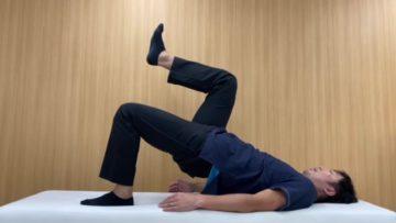 【動画付き】片脚でお尻を持ち上げる臀部のトレーニング|シングルヒップリフトの画像